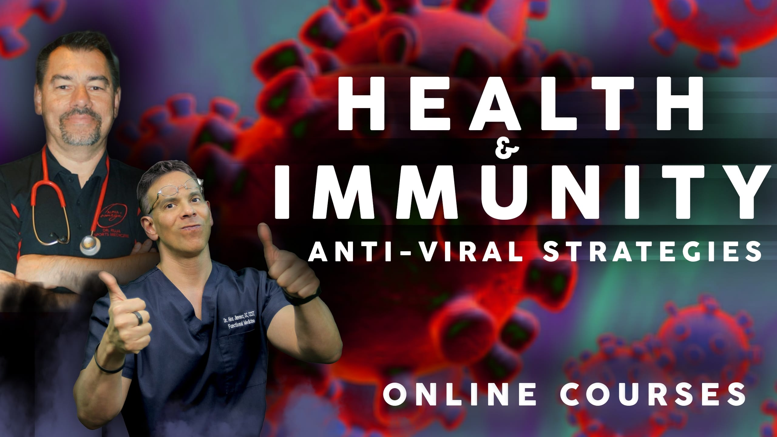 Health and Immunity Dr. Jimenez and Dr. Ruja | El Paso Texas Chiropractor