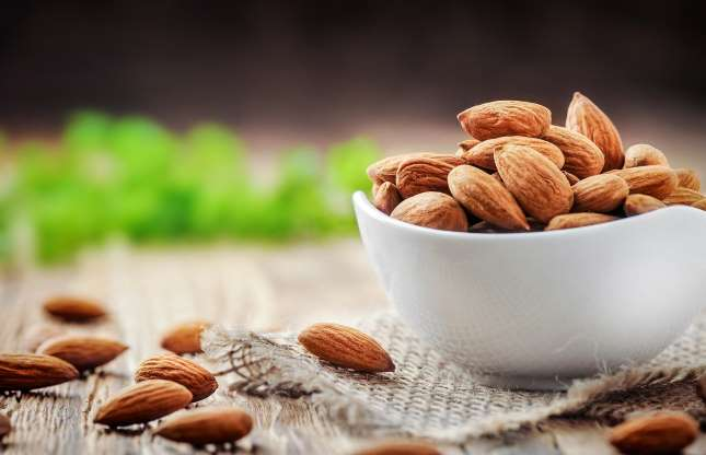 Image of Almonds.