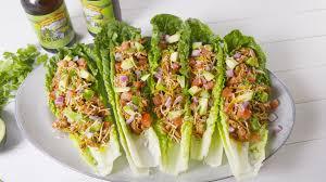 Thai Green Pork Lettuce Wraps