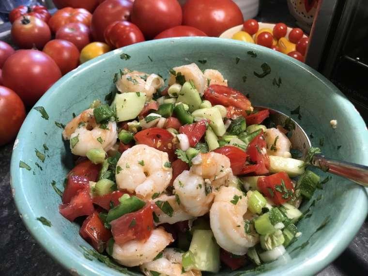 Shrimp Ceviche El Paso TX