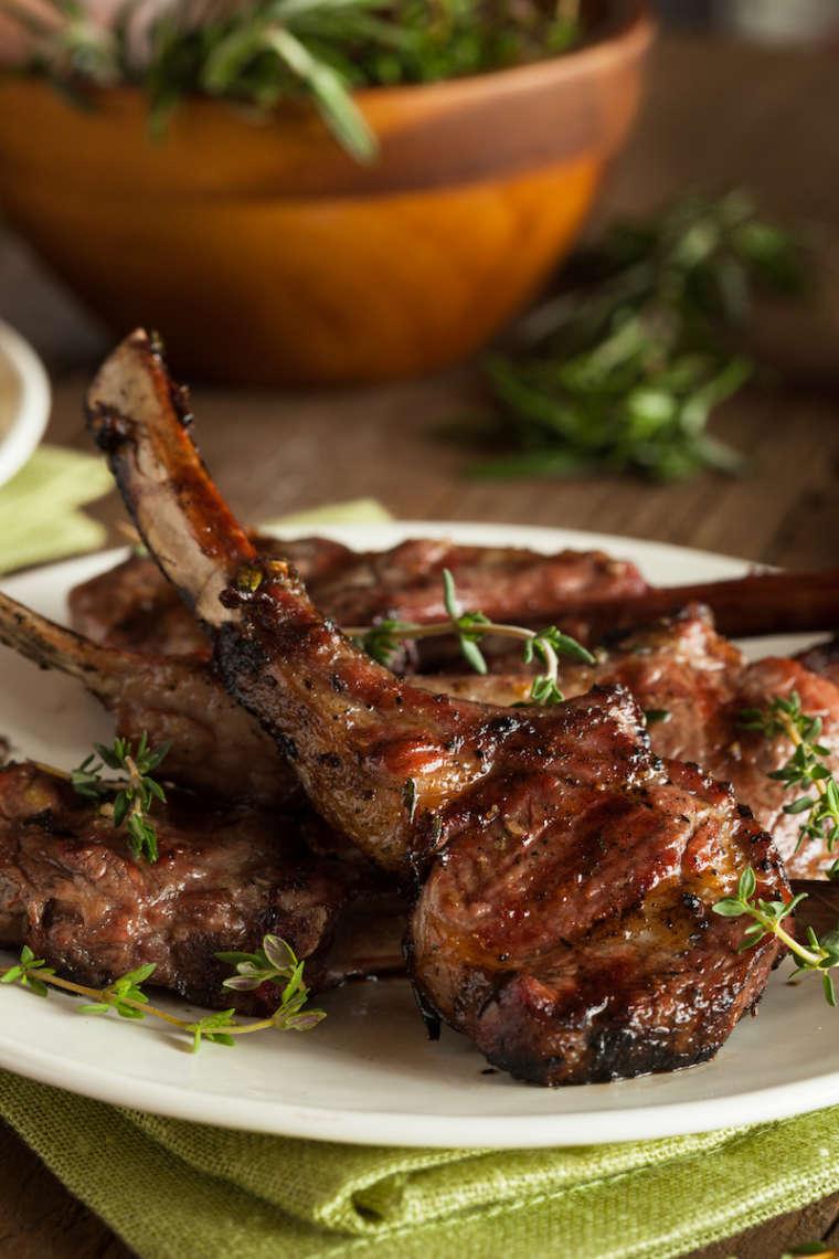 Garlic ghee lamb chops El Paso TX