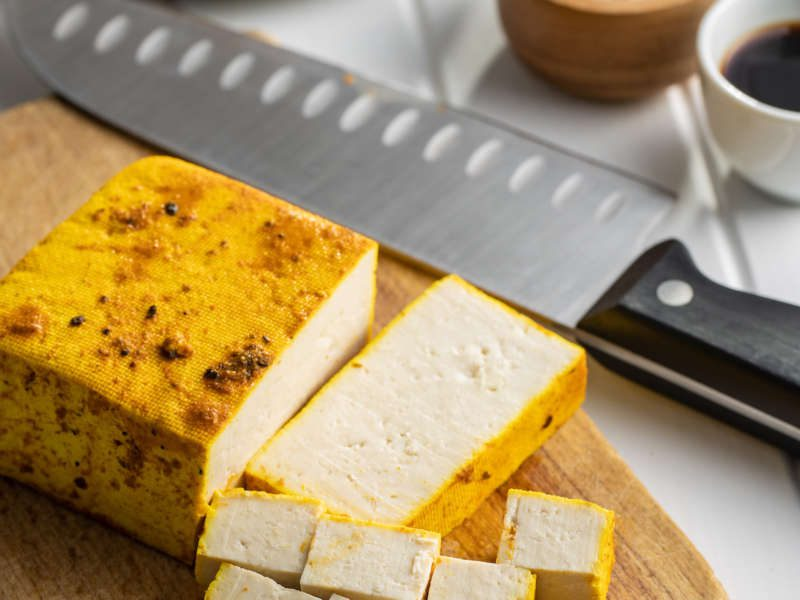 Tofu taco